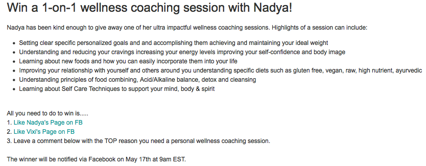 wellness coaching with nadya andreeva